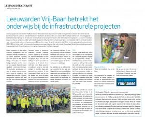 LC artikel Leeuwarden Vrij-Baan en Onderwijs