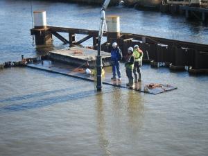 storten onderwater beton