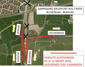 Bypass kruispunt N31/N359