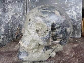 Oude skeletten gevonden bij Boksum
