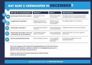 Hinderplanning december
