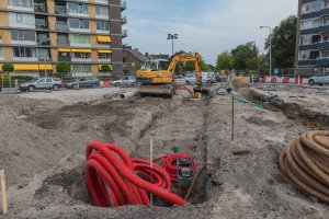 Zomerwerkzaamheden Europaplein Leeuwarden Vrij-Baan