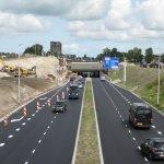 Eén rijbaan stad-in Drachtsterweg