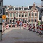 Bestrating stationsgebied volgens legplan Leeuwarden Vrij-Baan