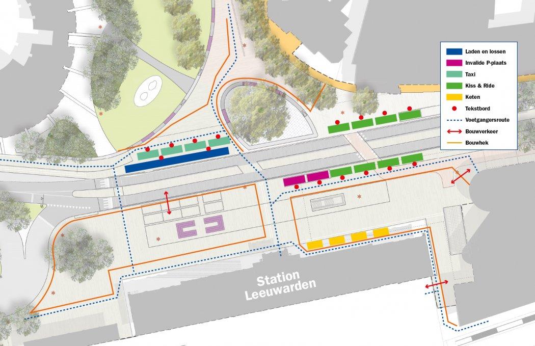 171107 Wijziging taxistandplaats en invalidenparkeerplaatsen en K&R