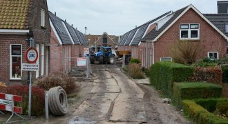 werkzaamheden Grou_Noorderdwarstraat